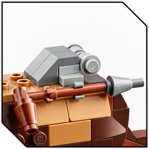 LEGO® T-16 Skyhopper™ vs Bantha™ Microfighters 75265