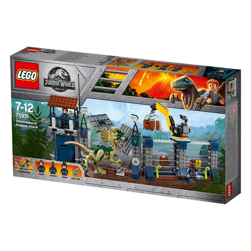 LEGO®Jurassic World™ 75931 Dilophosaurus Outpost Attack (侏羅紀, 恐龍) 75931 - LEGOLAND Discovery Centre Hong Kong