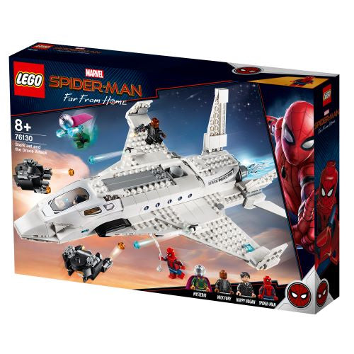 LEGO® Stark Jet and the Drone Attack 76130