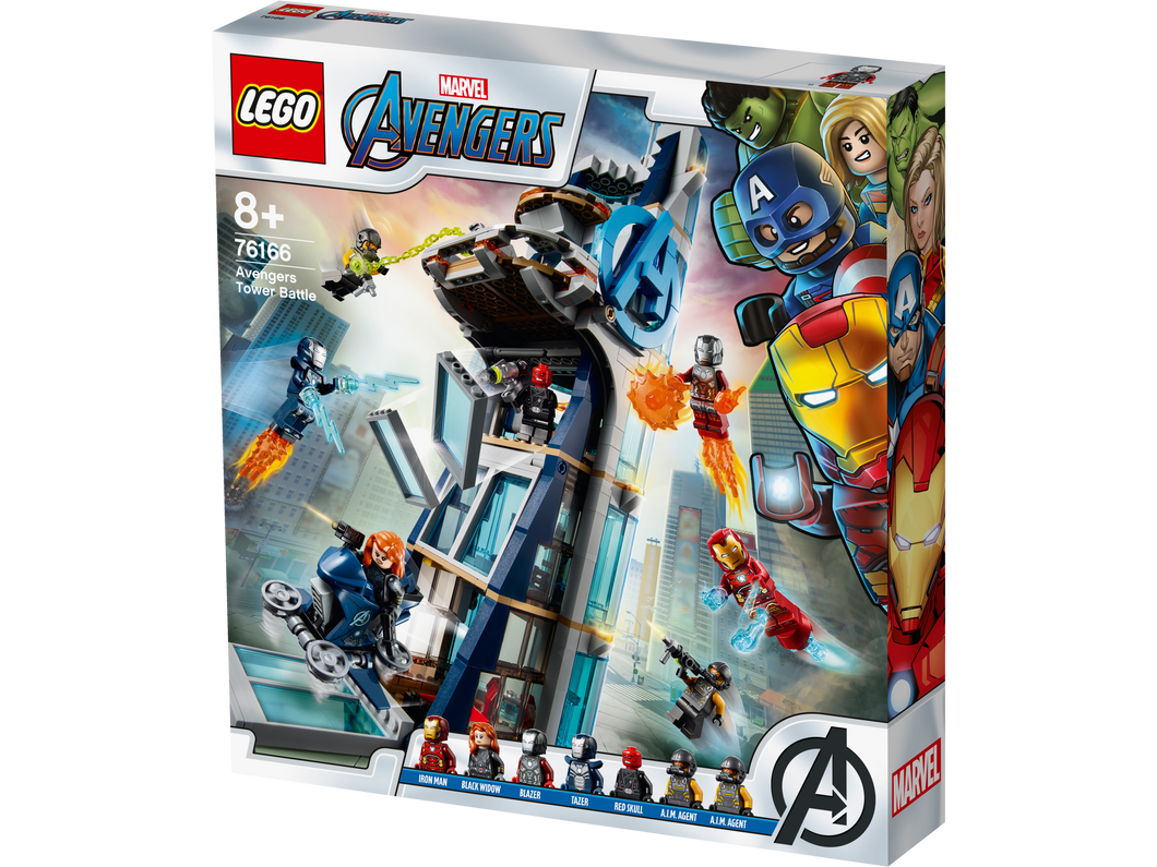 LEGO® Avengers Tower Battle 76166