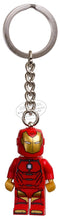 將圖片載入圖庫檢視器 LEGO® Marvel Super Heroes Invincible Iron Man Key Chain 853706
