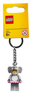 LEGO® Elephant Girl Key Chain 853905
