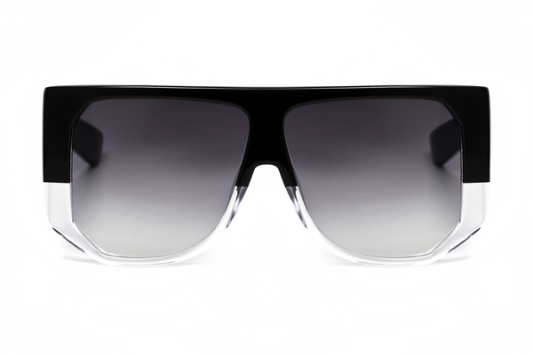Hadid Eyewear | Frequent Flyer Sunglasses | Black & Crystal - Hadid Eyewear