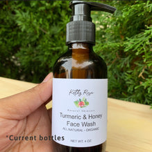 Load image into Gallery viewer, Tumeric & Honey Face Wash