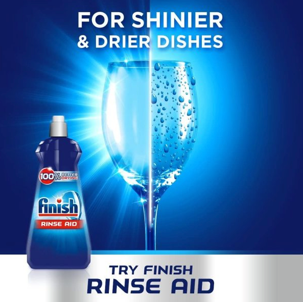 FINISH Rinse Aid Shine & Protect Regular