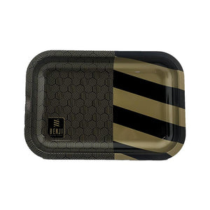 Benji Rolling Paper & Tray with Magnetic Lid Bundle.