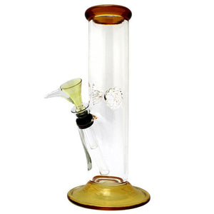 "9"" Straight Glass Water Pipe - HeadShop2Go.com"