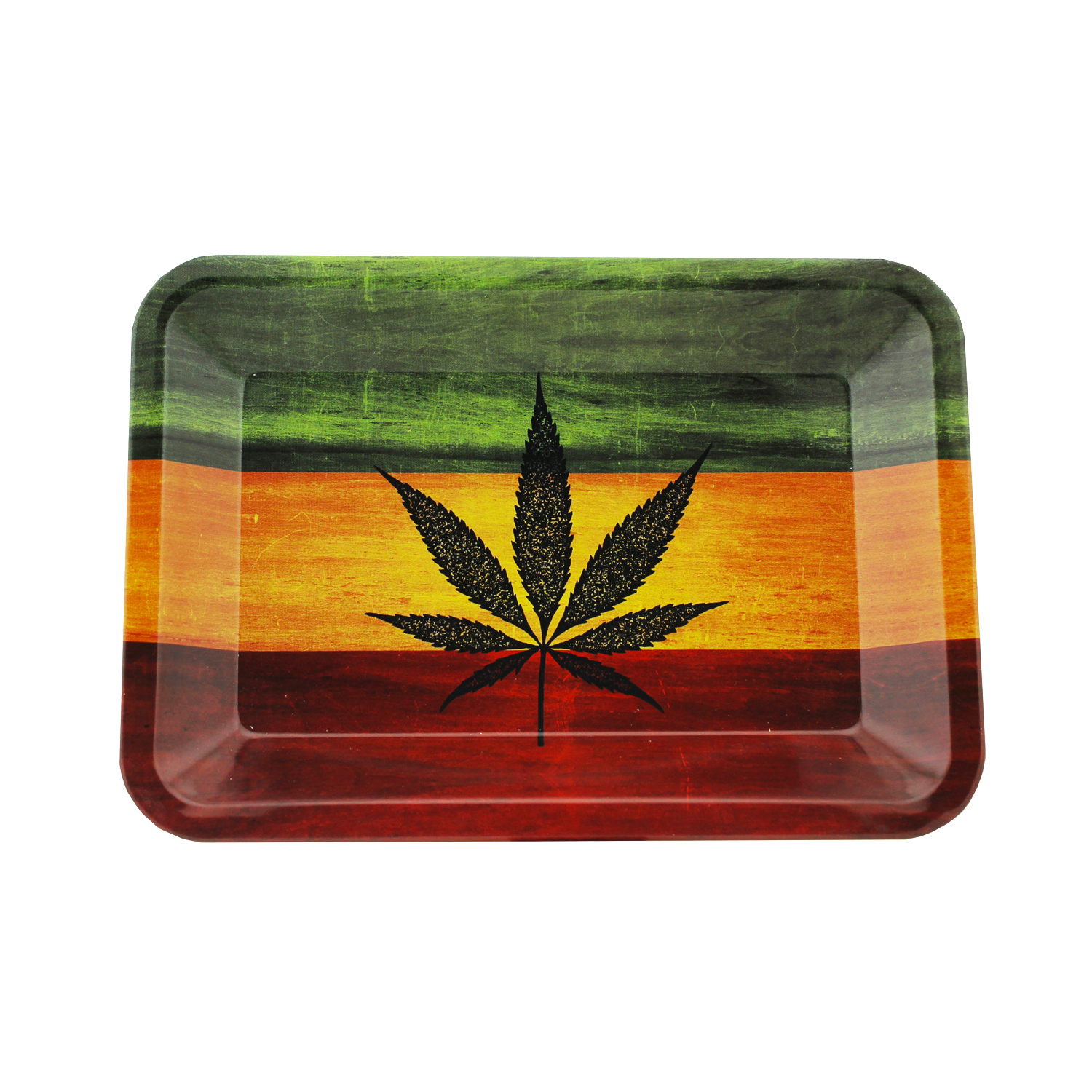 Rasta Tray MINI 7'' - HeadShop2Go.com