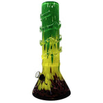 "12"" Frit Soft Glass Water Pipe - HeadShop2Go.com"