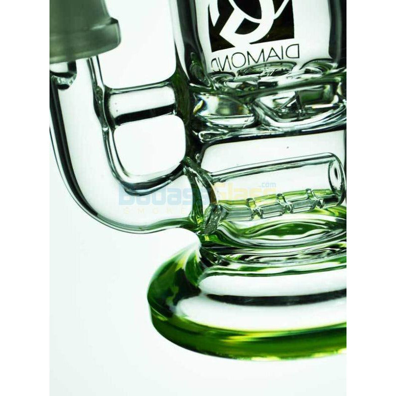"7"" Inline To Turbine Oil Rig by Diamond - HeadShop2Go.com"