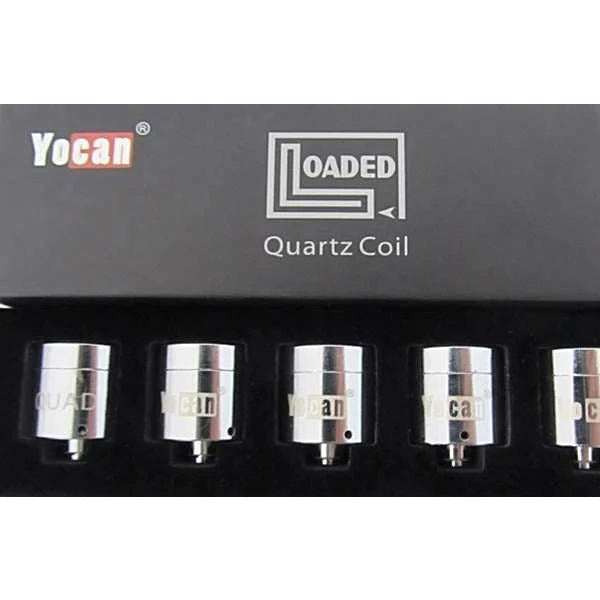 Yocan Loaded Quartz Quad Coil (Wax) 5ct - HeadShop2Go.com