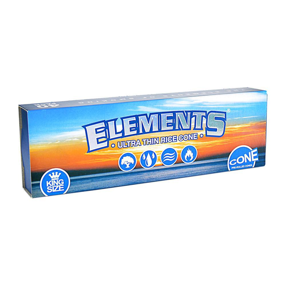 Elements Cone King Size 40 ct..