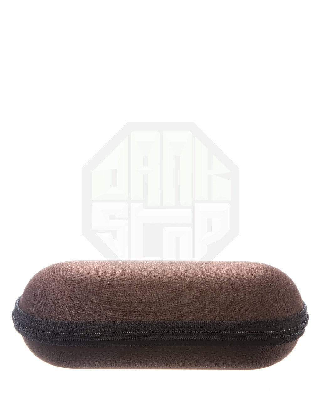 brown pipe case