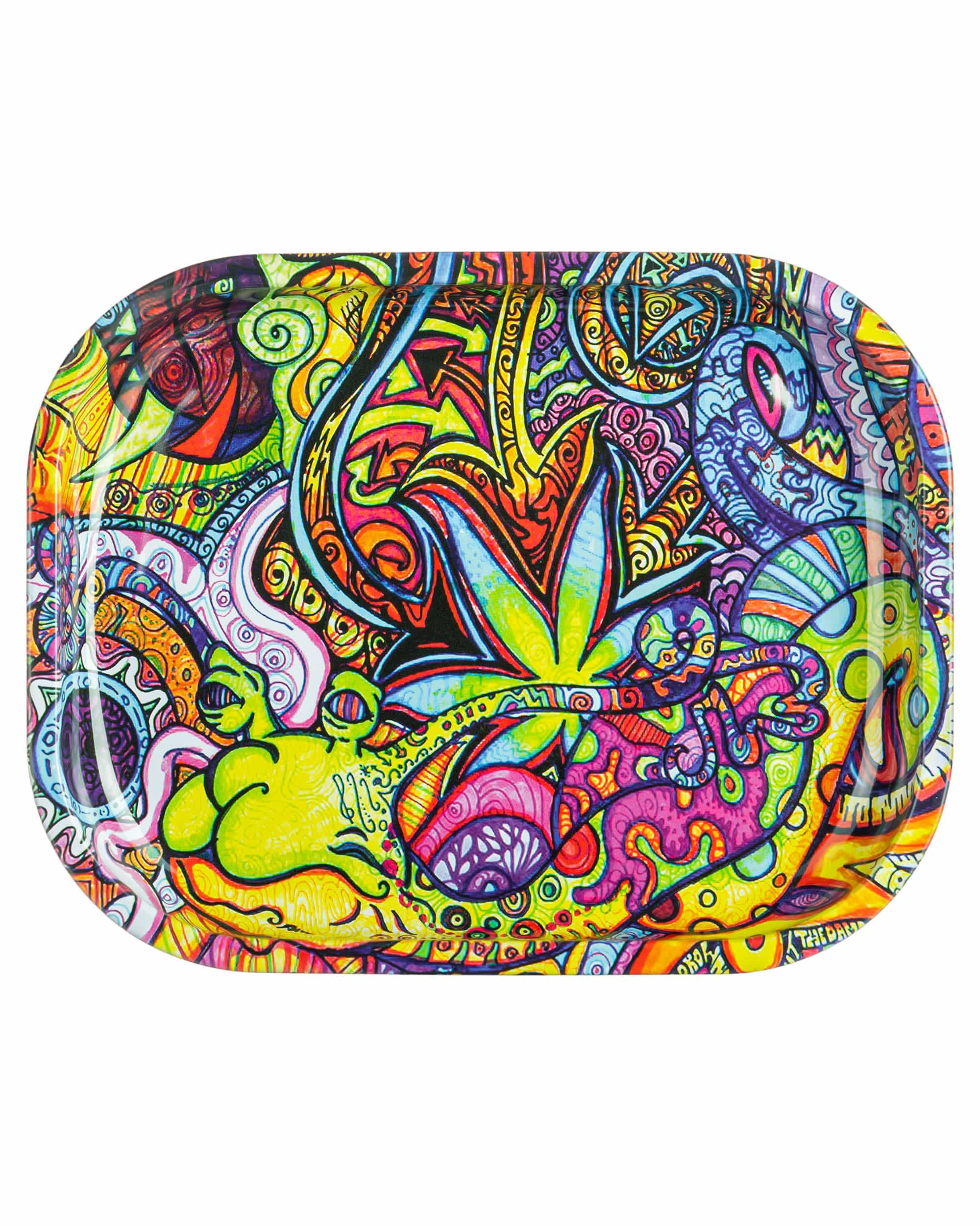 Psychedelic Snail Rolling Tray