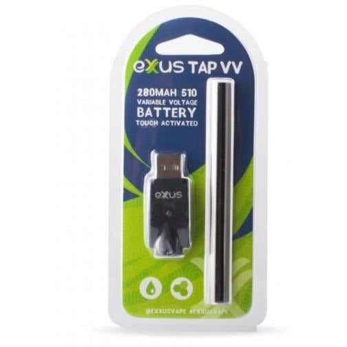 Exxus Tap VV Battery and Charger Blister Pack - HeadShop2Go.com