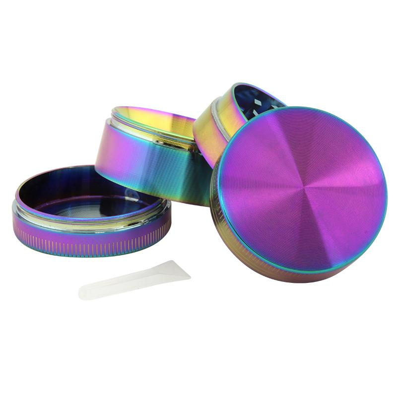 Anodized Zinc 4 Part Grinder 40mm - HeadShop2Go.com