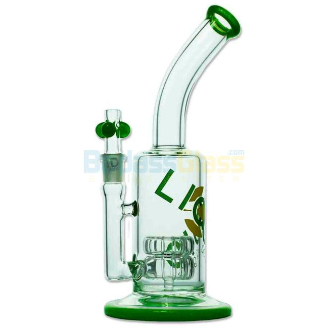 Stemless Double Showerhead Water Pipe by Liquid Sci - HeadShop2Go.com