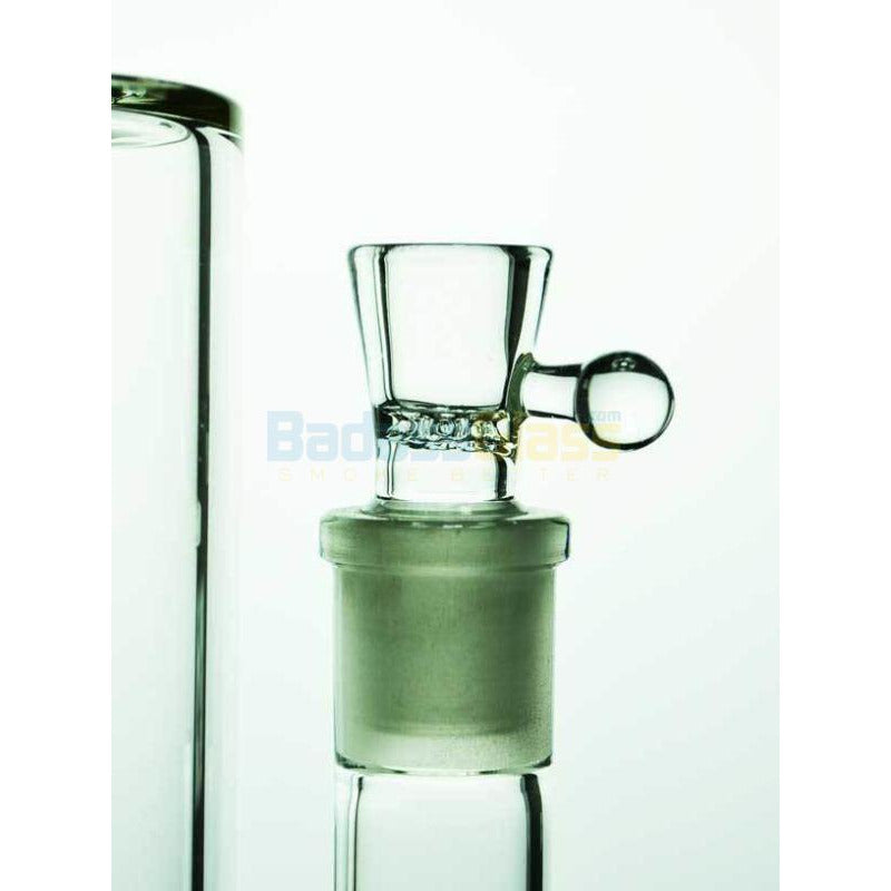Yellow Gridded Stem line to Ball Waterpipe By Diamond Glass - HeadShop2Go.com