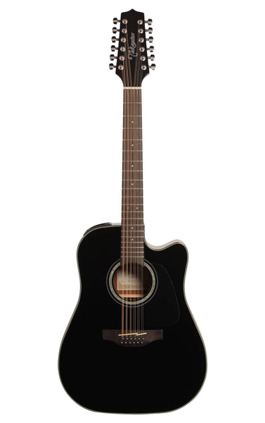 Takamine GD30CE-12BLK 12-Strings Black Acoustic Electric Guitar