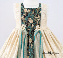 Load image into Gallery viewer, OOAK Champagne Christmas Dress, Size 2