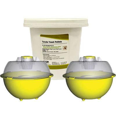 Fruit Fly Management Kit - ISCA Technologies