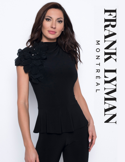 Peplum Top #203028 - Frank Lyman Design