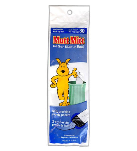 Mutt Mitts 30 Pack finny Pet Products