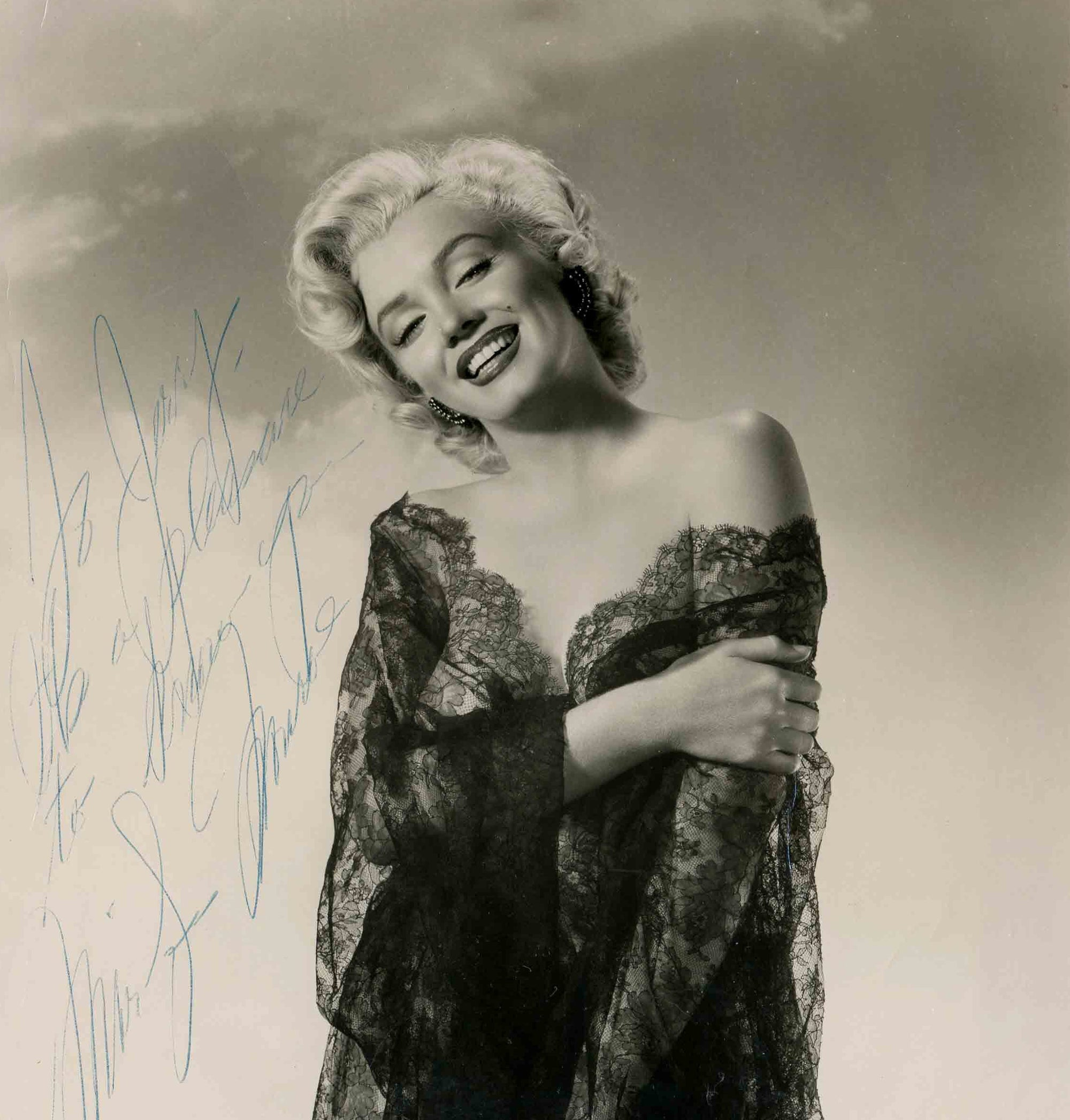 Marilyn Monroe Signed Photograph Expected to Attain $12,000-$14,000