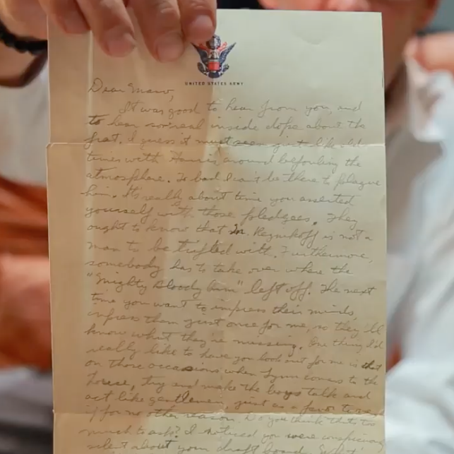 """A Father's Letter"" - John Reznikoff Shares Family History Through Letters"