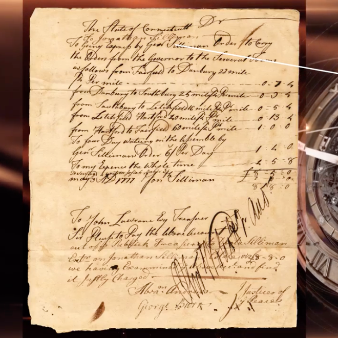 Battle of Ridgefield: Authenticating Historical Documents