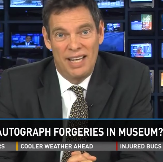 "CBS News Consults ""Reznikoff...One of The Best in the World"" About a Guinness World Record-Holding Autographed Baseball Collection"