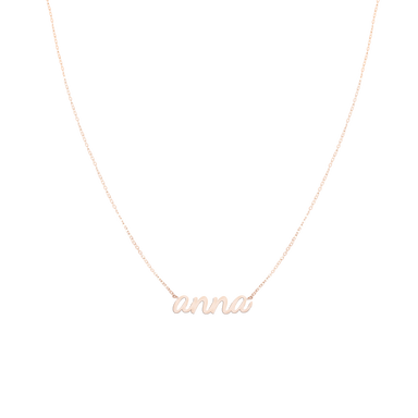 Necklace MY NAME ELLA