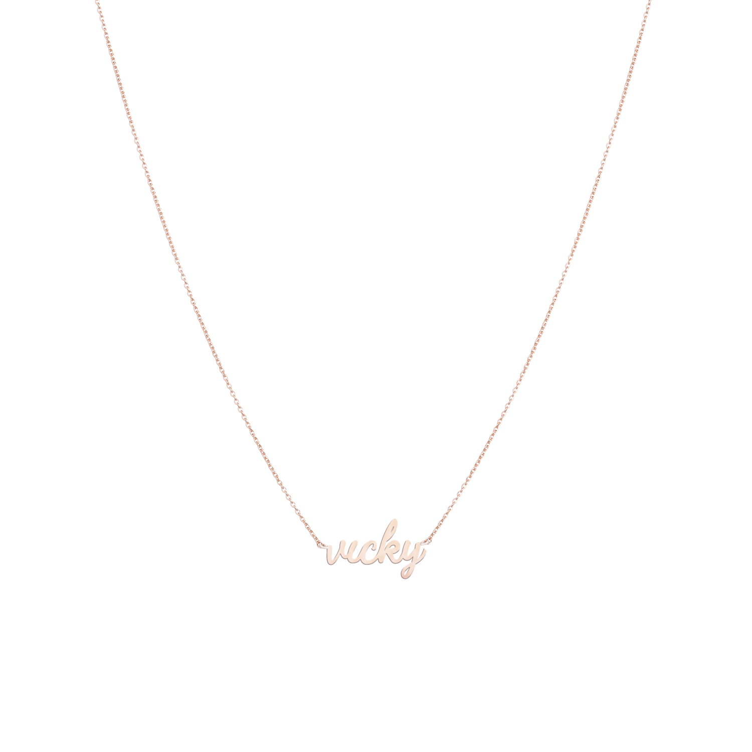 Necklace MY NAME PURE