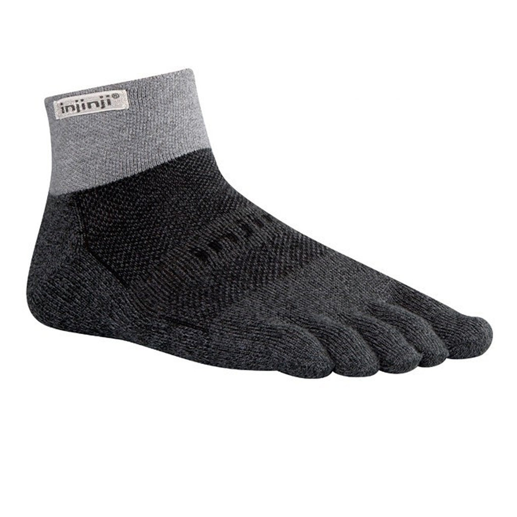 INJINJI TRAIL Performance 2.0 Padded Mini-Crew GREY/BLACK