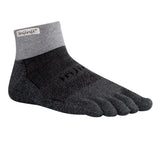 INJINJI TRAIL Performance 2.0 Padded Mini-Crew GREY/BLACK (SS18)