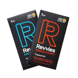 REVVIES ENERGY STRIPS - 5 PACK