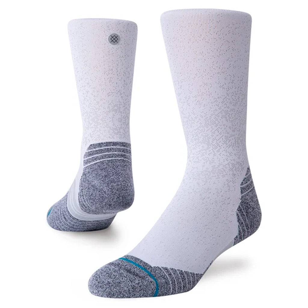 Unisex Stance Run Crew Sock - White