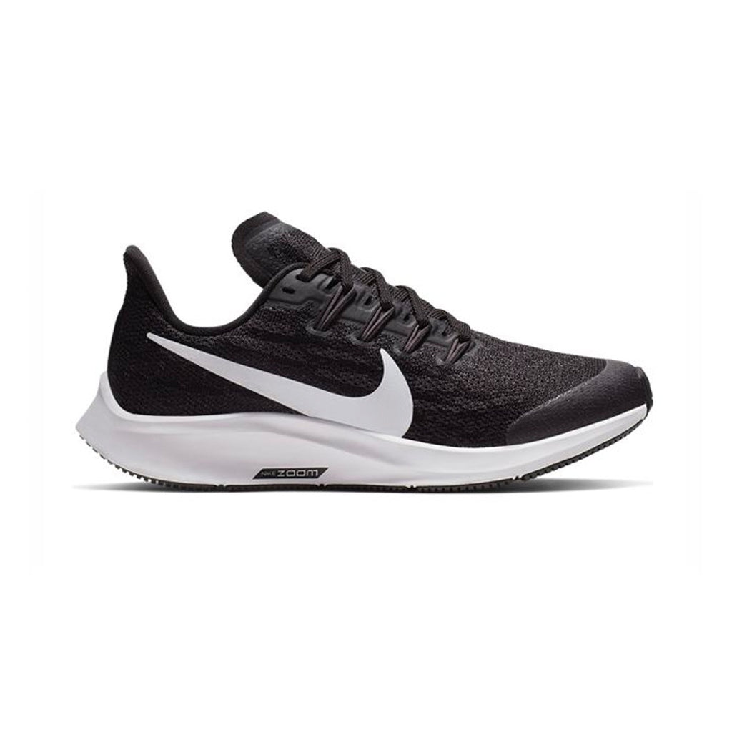 Kids Nike Air Zoom Pegasus 36 (GS) - Black / White-Thunder Grey