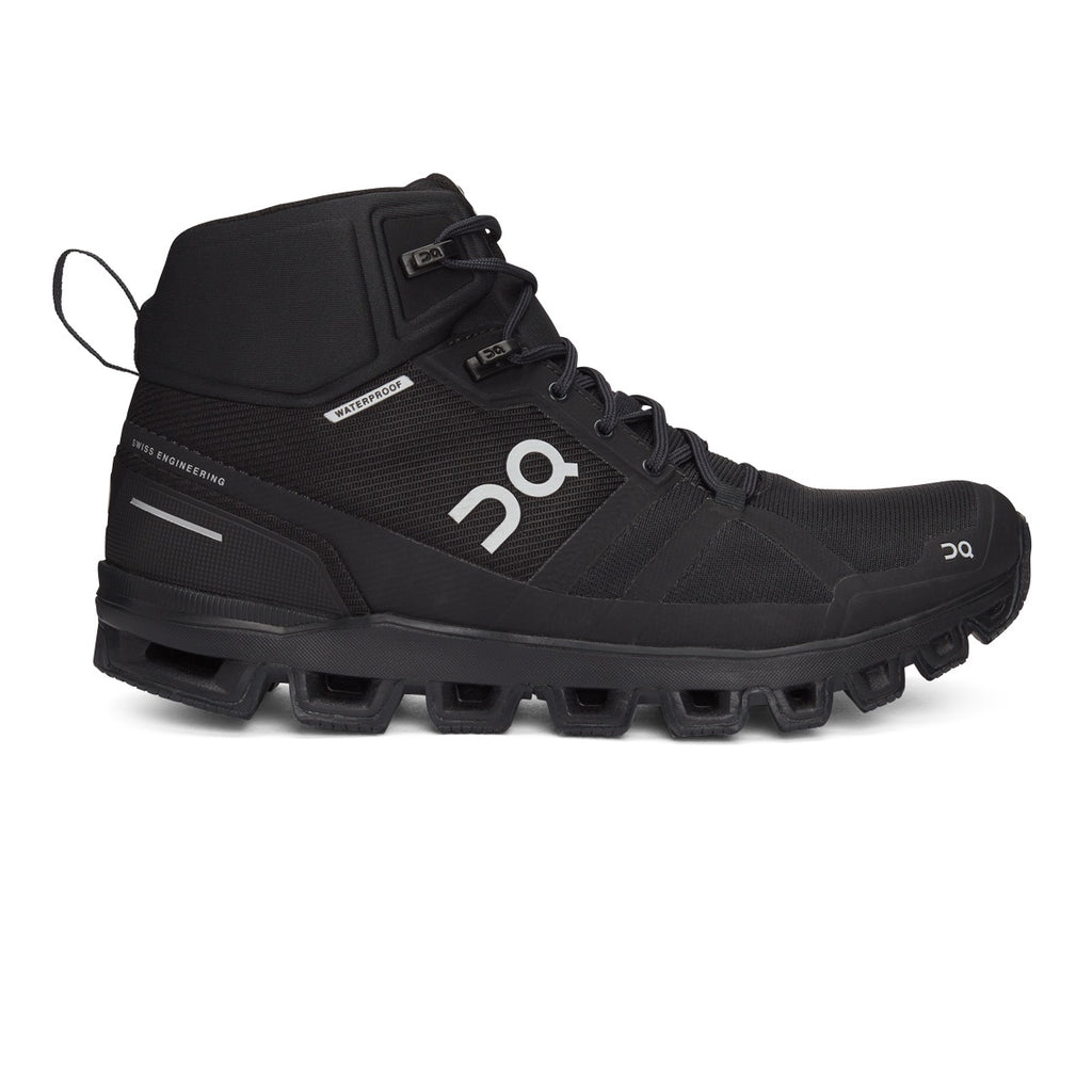 Mens On Cloudrock Waterproof - All Black
