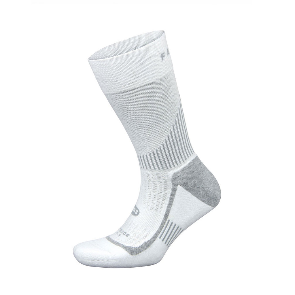 Falke Stride Crew Sock - White