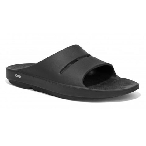 OOFOS OOahh Slides - Black
