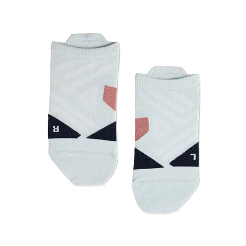 On Running Low Sock - Grey / Midnight