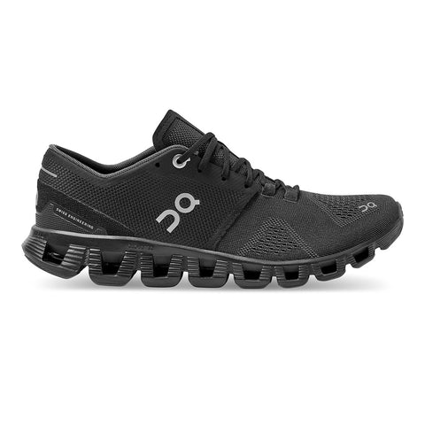 Womens On Cloud X - Black / Asphalt