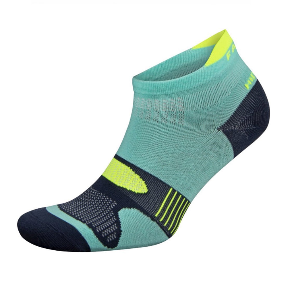 Falke Hidden Dry Sock - Neon Lime / Aqualine
