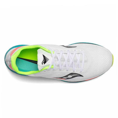 Womens Saucony Endorphin Pro - White / Mutant
