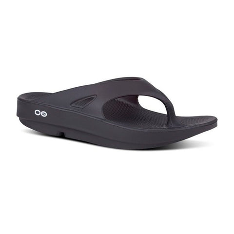 Oofos Ooriginal Thongs - Black