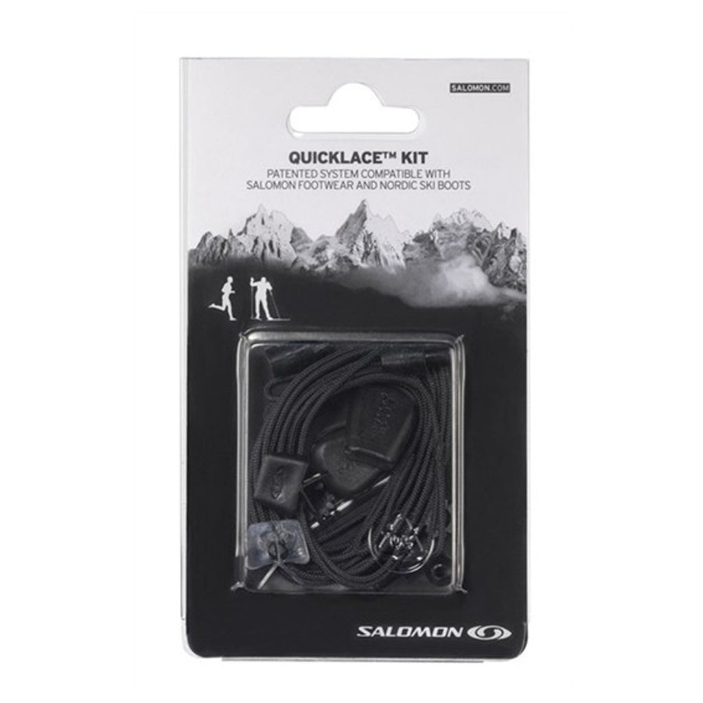SALOMON QUICKLACE KIT / BLACK
