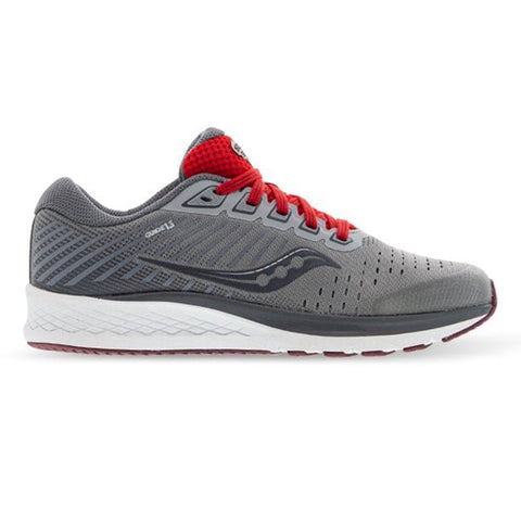 Kids Saucony Guide 13 - Alloy / Red