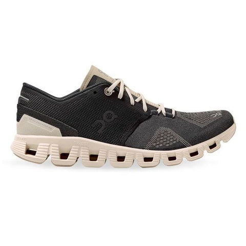 Womens On Cloud X - Black / Pearl