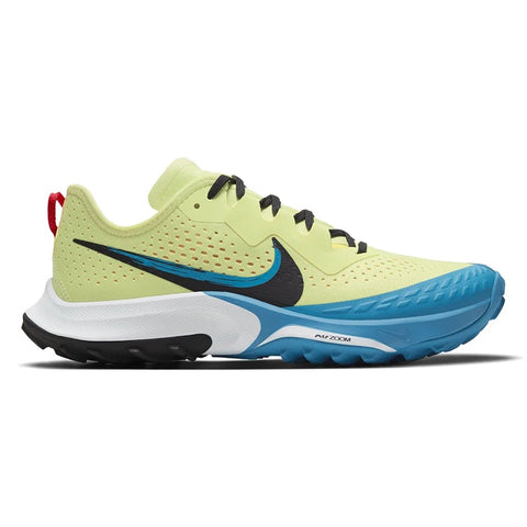 Women's Nike Air Zoom Terra Kiger 7 - Lime Light / Off Noir / Laser Blue